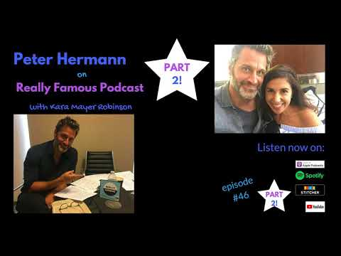 PETER HERMANN came back for this – Part 2!