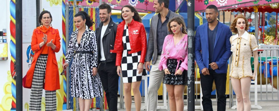 Younger Season 5 – Promo Shooting in Coney Island, New York – April 2018