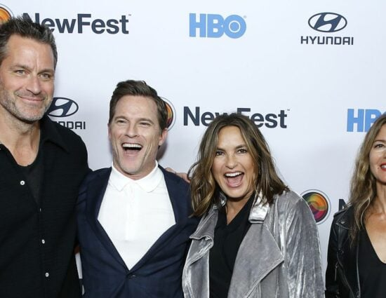 "Mariska and Peter attending the ""Sell By"" – NewFest Film Festival Opening Night"