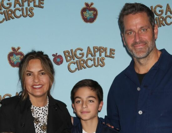Mariska, Peter and their children @ Big Apple Circus Opening Night